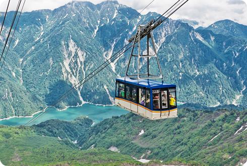 立山ロープウェイ | 楽しみ方ナビゲート | 立山黒部アルペンルート