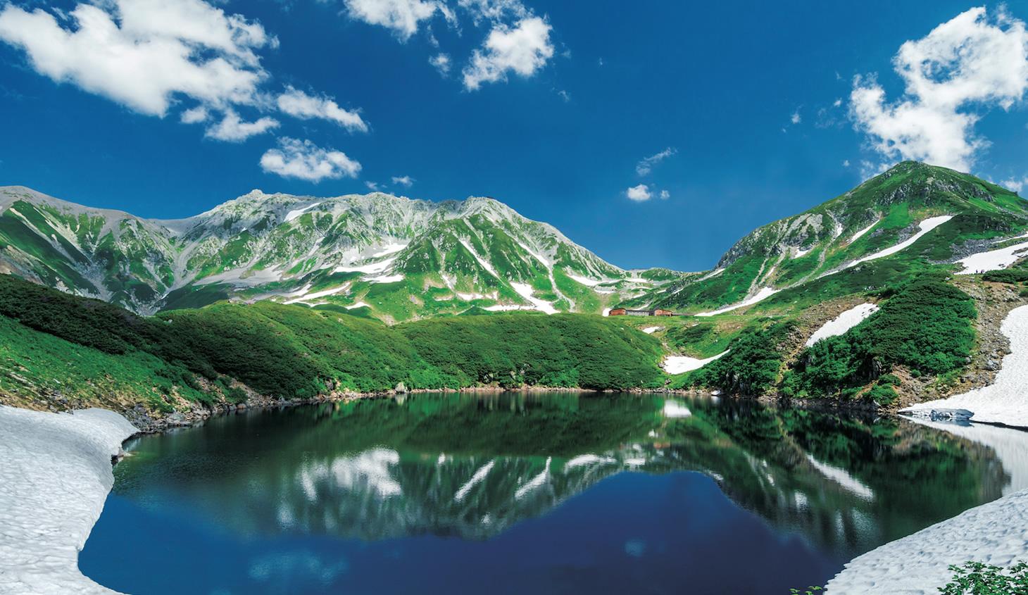 立山黒部アルペンルートの絶景
